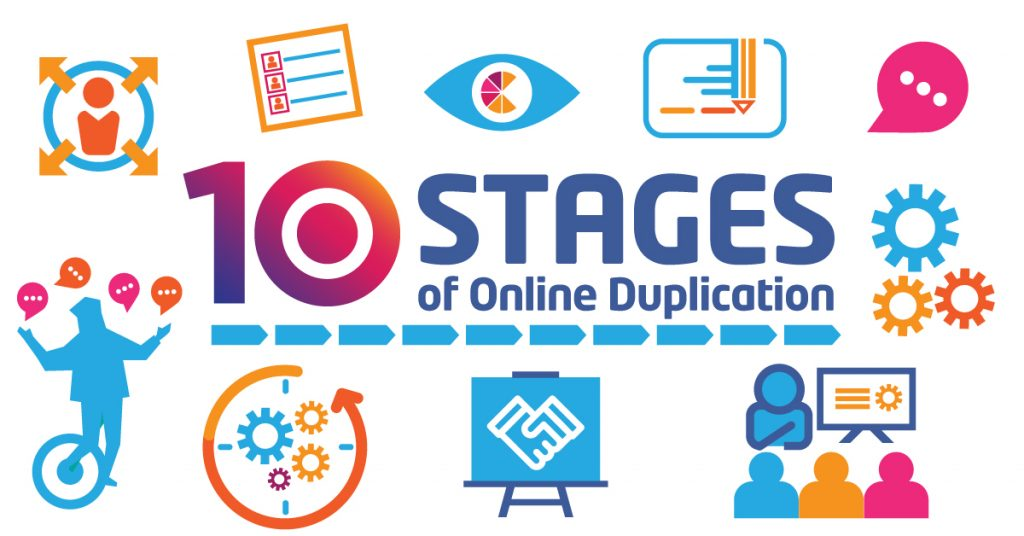 10 Stages of Online Duplication